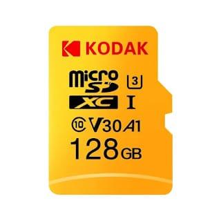 Cupões de desconto! MicroSD Kodak de 64GB a 6,8€ e o de 128GB a 13€