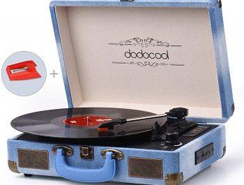 Gira-discos estilo vintage
