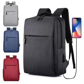 Oferta Banggood! Mochila Xiaomi 17lt com porta USB por 9,90€