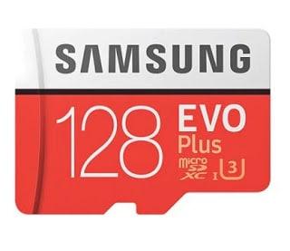 Oferta Gearbest! MicroSD Samsung EVO Class10 128gb por 14,5€ com Envio Grátis