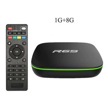 Promoção! Box Android R69 1/8gb por 16,4€ e a Box Android T95 2/16gb por 16,1€