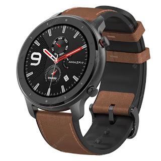 Desconto! Relógio Xiaomi Amazfit GTR com 74 dias Autonomia a 108,9€
