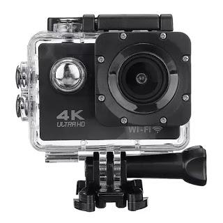 Câmara SJ9000 tipo Go Pro 4K por 12,5€