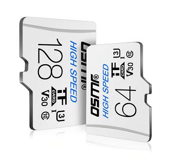 cartão de memória microSD de 128 GB