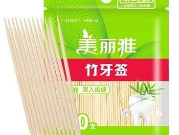 400 palitos de bamboo