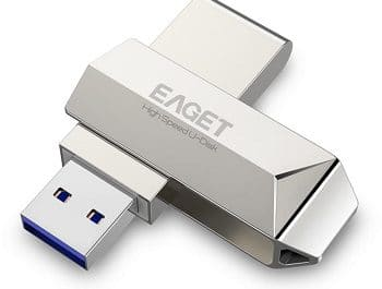 Pendrive Eaget com 128gb 3.0