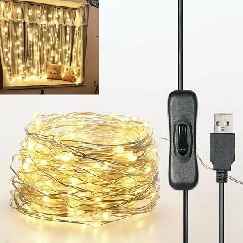 Super preço! Série de luzes com 12m e 120 LED por 3,9€