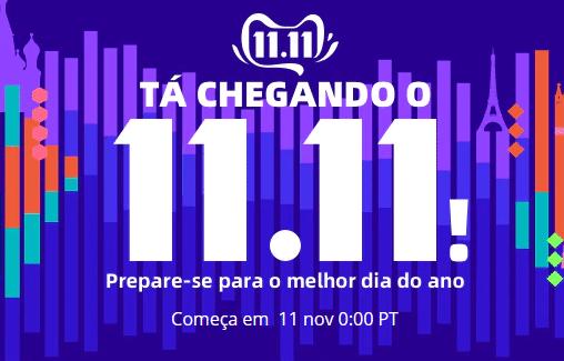 AliExpress dia 11.11.2019 as melhores ofertas e cupões tudo num só lugar!