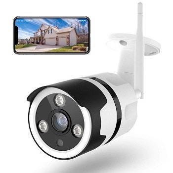 Câmara de vigilância externa Netvue HD 1080p
