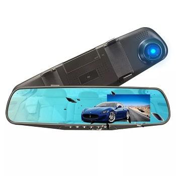 Espelho Retrovisor com câmara HD 1080p por 15,6€  envio desde Espanha
