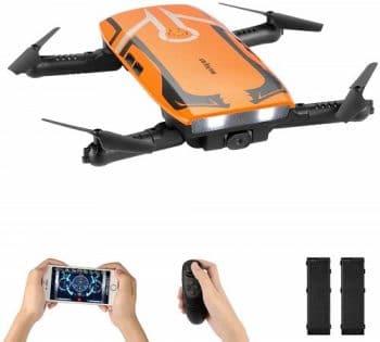 Oferta Amazon! Drone Helifar H818 com câmara e WIFI e 2 baterias por 15,9€