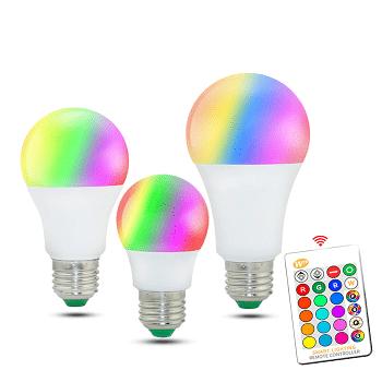 Ofertita AliExpress! Lâmpada RGB com comando desde 1,8€ com envio gratuito