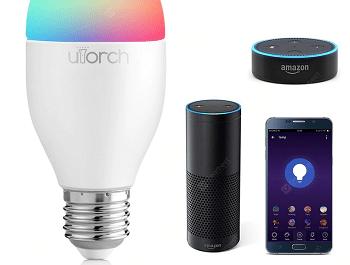 Lâmpada Utorch e27 wifi smart bulb