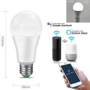 Lâmpada inteligente wifi