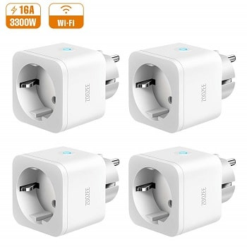 Oferta Amazon! Pack de 4 tomadas inteligentes por 29,5€