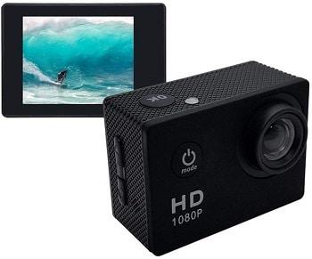Oferta Amazon! Câmara de acção 1080p Full HD por 12€