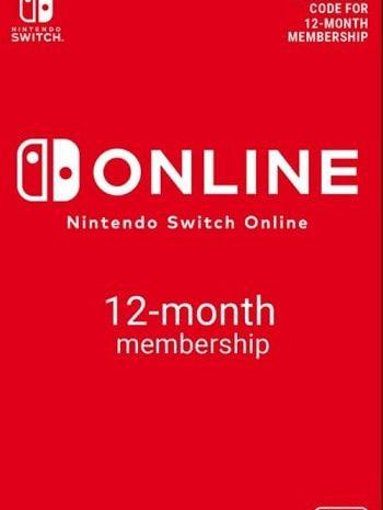 Licença Nintendo Switch Online valida por 1 Ano por 16,2€