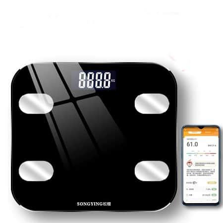 Balança LCD inteligente com Bluetooth por apenas 8,9€
