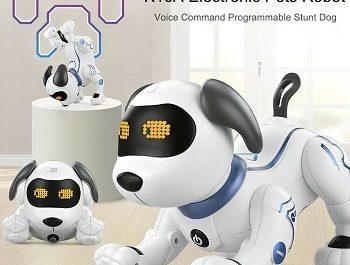 Cão-robot-com-comandos-por-voz