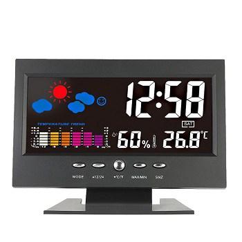Preço mais barato! Estação meteorológica com LCD a cores apenas 7,2€