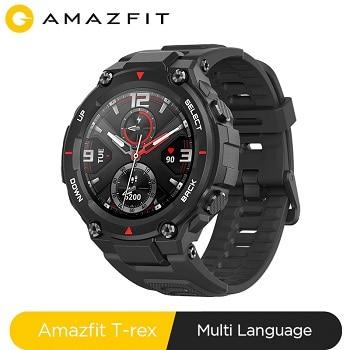 Cupão desconto! Smartwatch Amazfit T-rex por 127€