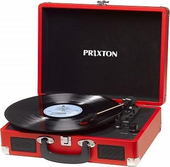 Desconto Amazon! Gira-Discos Prixton, 33/45/78 RPM por 39,9€