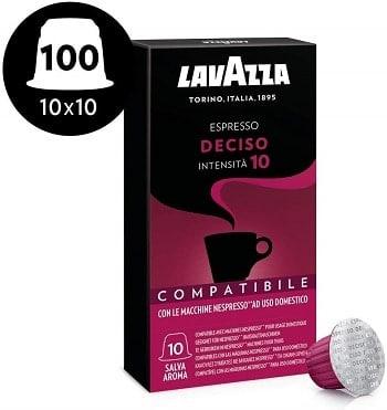 Oferta Amazon! 100 cápsulas Lavazza intensidade 10 para máquinas Nespresso por 14,2€
