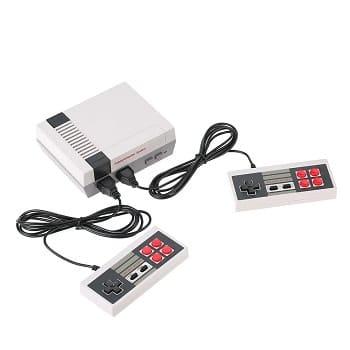 Desconto! Consola de jogos tipo NES com 2 comandos e 620 jogos por 10,7€
