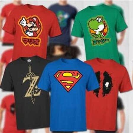 Descontão Zavvi! 2 T-shirts por 20€ + envio gratuito