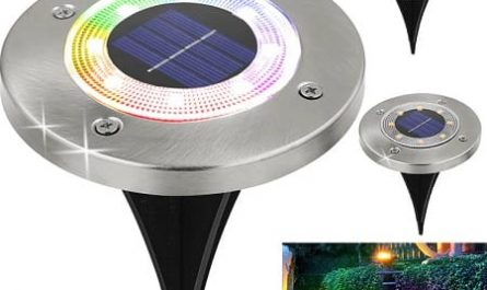 Candeeiro solar RGB barato