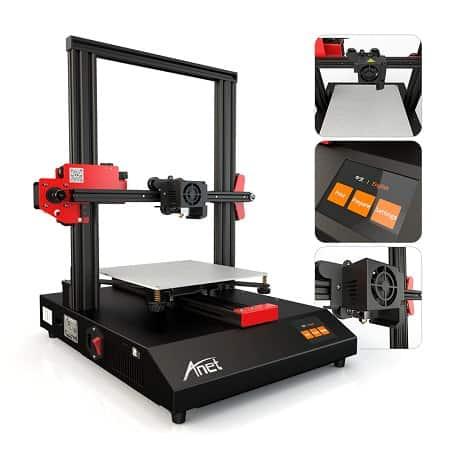 Impressora 3D Anet ET4 por 128€ com envio gratuito desde Espanha