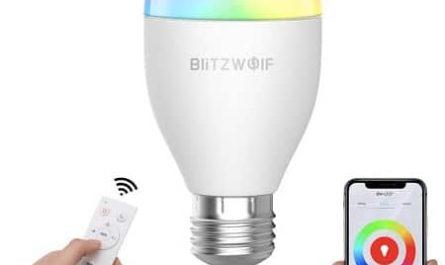 Lampada-inteligente-BlitzWolf-barata