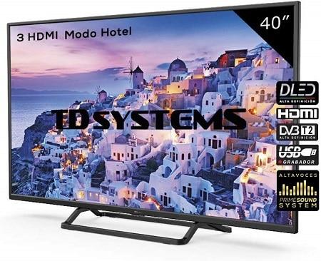 Televisão LCD de 40″ TD Systems por apenas 169€