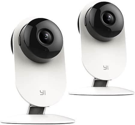 Oferta Amazon! 2 x câmaras de vigilância Yi Home 720p por 24,9€ com código promocional