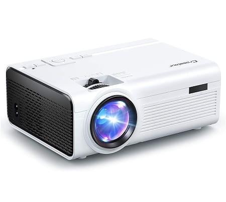 Oferta Amazon! Mini projector portátil Full HD 1080p por 53,9€
