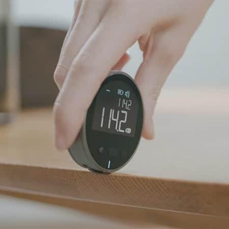 Fita métrica electrónica sem fita, Youpin DUKA com 8 funções e medição max. de 99mt por 13,4€