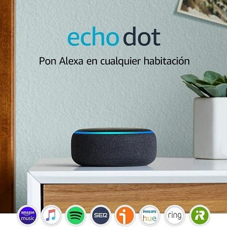 Oferta Amazon.es! Amazon Echo Dot 3ª geração por apenas 30,99€