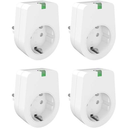 Oferta Amazon.es! Pack de 4 tomadas inteligentes por 15,99€