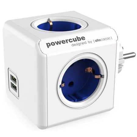 Oferta Amazon! Powercube 4 Socket + 2 USB a 11,95€ e de 5 Sockets a 12,99€