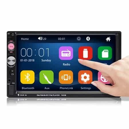 Auto-radio iMars com ecrã touch por 26,85€ com envio da armazém Europeu