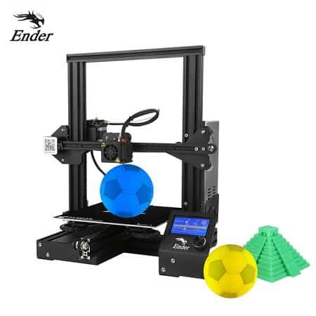 Impressora 3D Creality Ender 3 desde a Europa por 159,27€