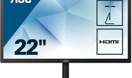 Monitor AOC 22 polegadas barato