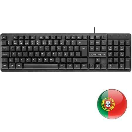 Oferta Amazon! Teclado Profissional layout Português por apenas 4,50€