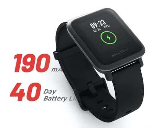 Oferta Amazon! Amazfit Bip S com GPS, mais autonomia, melhor ecrã e bateria por 44,90€