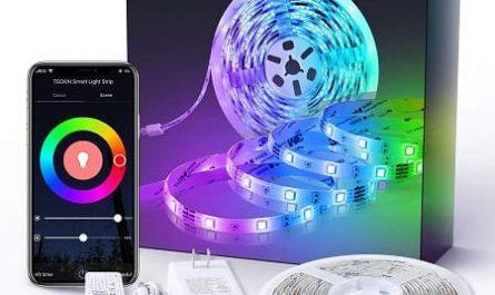 Fita LED RGB controlo por App