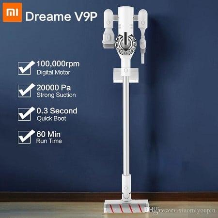 Mínimo histórico desde Espanha! Xiaomi Dreame V9P só 119,12€