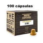 Pechincha! 100 cápsulas Note café Colômbia compatíveis com Nespresso por apenas 10,52€