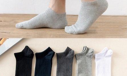 5 pares de meias baratos