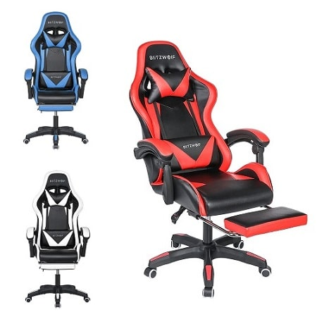 Cadeira gaming BlitzWolf® BW-GC1 por 80,83€ desde a EUROPA