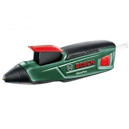 Pistola cola quente a bateria marca Bosch